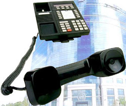 Get new business telephones free when you go with hosted PBX service.