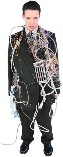 Get rid of your old telephone wiring for cost savings and performance improvements...