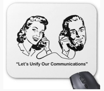 Let's Unify Our Communications mousepad. Find more products with this theme now.